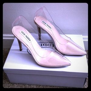 Clear Steve Madden Pumps